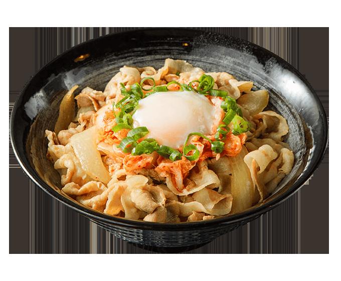 韓泡豚肉丼
