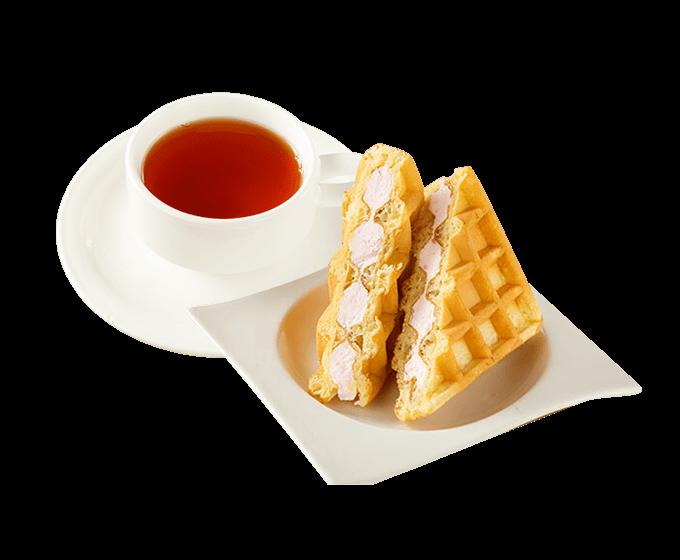 草莓鬆餅小品套餐