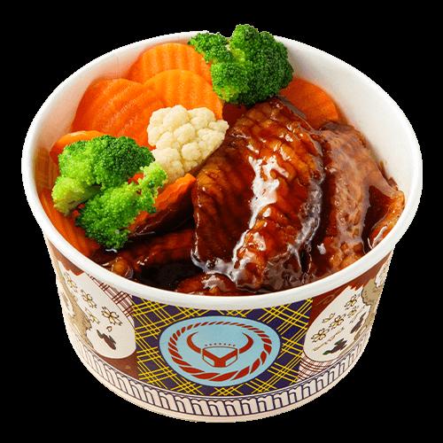 蒲燒鯛魚丼